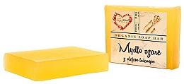 """Parfémy, Parfumerie, kosmetika Glycerinové tělové mýdlo """"Lněný olej"""" - The Secret Soap Store"""