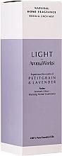 Parfémy, Parfumerie, kosmetika Vonný bytový sprej Petitgrain a levandule - AromaWorks Light Range Room Mist