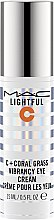 Parfémy, Parfumerie, kosmetika Oční krém - M.A.C Lightful C + Coral Grass Vibrancy Eye Cream