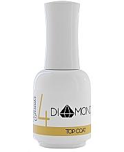 Parfémy, Parfumerie, kosmetika Vrchní vrstva na gel lak - Elisium Diamond Liquid 4 Top Coat