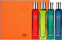 Parfémy, Parfumerie, kosmetika Hermes Collection Colognes - Sada (edc/4x15ml)