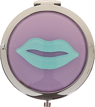 Parfémy, Parfumerie, kosmetika Kosmetické kapesní zrcátko, 85680, šeříkové s modrou - Top Choice