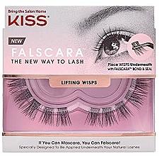 Parfémy, Parfumerie, kosmetika Umělé řasy, trsové - Kiss Falscara Lengthening Wisps 03