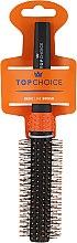 Parfémy, Parfumerie, kosmetika Kartáč na vlasy, černo-oranžový, 2083 - Top Choice