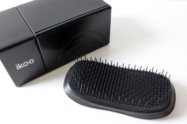 Kartáč na vlasy - Ikoo Home Black Brush — foto N4