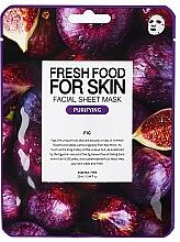 Parfémy, Parfumerie, kosmetika Plátýnková pleťová maska Fíky - Superfood For Skin Facial Sheet Mask Fig Purifying