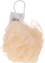 Parfémy, Parfumerie, kosmetika Houba do koupele, žlutá - IDC Institute Design Mesh Pouf Bath Sponges