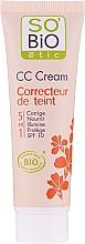 Parfémy, Parfumerie, kosmetika CC-krém, 5v1 SPF 10 - So'Bio Etic CC Cream