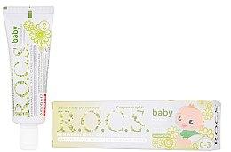 Parfémy, Parfumerie, kosmetika Dětská zubní pasta s heřmánkem - R.O.C.S. Baby