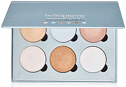Parfémy, Parfumerie, kosmetika Paleta s efektem záření pleti - Bellapierre Cosmetics Glowing Palette 2