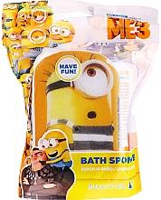 "Parfémy, Parfumerie, kosmetika Dětská houba do koupele ""Minions"", Patrick, žluto-modrá - Suavipiel Minnioins Bath Sponge"