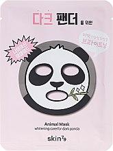 Parfémy, Parfumerie, kosmetika Pleťová maska látková - Skin79 Animal Mask For Dark Panda