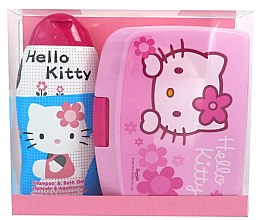 Parfémy, Parfumerie, kosmetika Sada - Disney Hello Kitty (shm/bath/gel 300ml + lunch box)