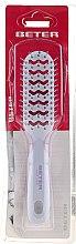 Parfémy, Parfumerie, kosmetika Kartáč na fénování s nylonovými štětinami, bílý s růžovým, 16.5 cm - Beter Beauty Care