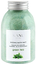 Parfémy, Parfumerie, kosmetika Šumivá sůl do koupele Zelený čaj - Kanu Nature Green Tea Fizzing Bath Salt