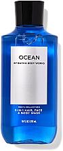 Parfémy, Parfumerie, kosmetika Čisticí přípravek na obličej, tělo a vlasy 3v1 - Bath and Body Works Men`s Collection Ocean 3 In 1 Hair, Face & Body Wash