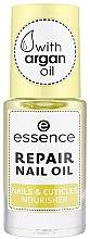 Parfémy, Parfumerie, kosmetika Vyživující olej na nehty a kutikuly - Essence Repair Nail Oil Nails & Cuicles Nourisher