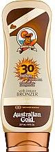 Parfémy, Parfumerie, kosmetika Opalovací mléko - Australian Gold Lotion With Instant Bronzer Spf30