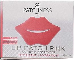 Parfémy, Parfumerie, kosmetika Náplast na rty s extraktem z červených hroznů - Patchness Lip Patch Pink