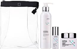 Parfémy, Parfumerie, kosmetika Sada - Ofra Normal Skin Solution Trio (f/ser/36ml + f/cr/60ml + clencer/240ml)
