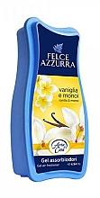 Parfémy, Parfumerie, kosmetika Osvěžovač - Felce Azzurra Gel Air Freshener Vanilla & Monoi