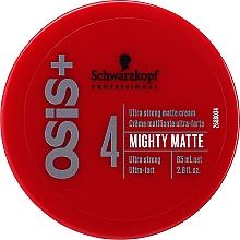 Parfémy, Parfumerie, kosmetika Ultra silný matující krém na vlasy - Schwarzkopf Professional Osis+ Mighty Matte Cream