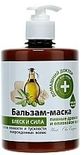 Parfémy, Parfumerie, kosmetika Balzám-maska Pivovarské kvasnice a olivový olej - Domácí Lékař