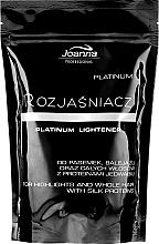 Parfémy, Parfumerie, kosmetika Zesvětlovač na vlasy Platinum - Joanna Professional Lightener (sáček)