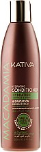 Parfémy, Parfumerie, kosmetika Hydratační kondicionér pro normální a poškozené vlasy - Kativa Macadamia Hydrating Conditioner