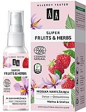 Parfémy, Parfumerie, kosmetika Hydratační mlha na obličej - AA Super Fruits & Herbs