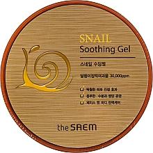 Parfémy, Parfumerie, kosmetika Zklidňující gel s hlemýždím extraktem - The Saem Snail Soothing Gel