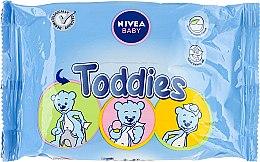 Parfémy, Parfumerie, kosmetika Dětské vlhčené ubrousky - Nivea Baby Toddies Multifunctional Napkins