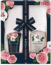 Parfémy, Parfumerie, kosmetika Sada - Baylis & Harding Boudoire Rose Slipper Set (b/lot/140ml + b/salt/100g + acc)