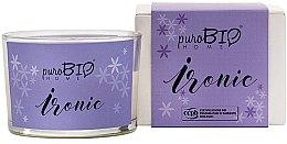 Parfémy, Parfumerie, kosmetika Organická svíčka - PuroBio Home Organic Ironic