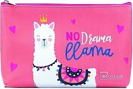 Parfémy, Parfumerie, kosmetika Kosmetická taštička se vzorem, růžová - IDC Design Accessories Cosmetig Bag