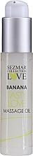 Parfémy, Parfumerie, kosmetika Masážní olej Banán - Sezmar Collection Love Banana Tasty Love Massage Oil (mini)