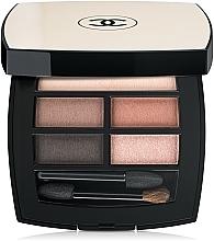 Parfémy, Parfumerie, kosmetika Paleta stínů s účinkem přirozeného jiskření - Chanel Les Beiges Healthy Glow Natural Eyeshadow Palette