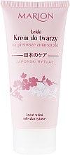 Parfémy, Parfumerie, kosmetika Krém na obličej proti prvním vráskám - Marion Japanese Ritual Light Face Cream for First Wrinkles