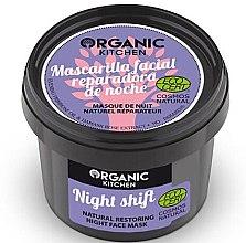 Parfémy, Parfumerie, kosmetika Noční omlazující maska na obličej - Organic Shop Organic Kitchen Fase Mask