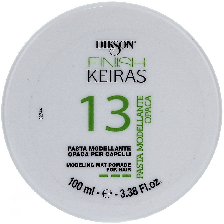 Stylingová pasta na vlasy - Dikson Finish Keiras Pasta Modellante Opaca 13