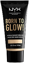 Parfémy, Parfumerie, kosmetika Tekutý tónovací krém - NYX Professional Makeup Born To Glow
