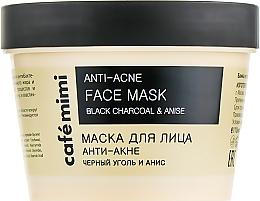 "Parfémy, Parfumerie, kosmetika Pleťová maska ""Proti akné"" - Cafe Mimi Face Mask"