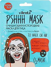 Parfémy, Parfumerie, kosmetika Čisticí kyslíková maska na obličej s bambusovým uhlím a komplexem Acid+ - Vilenta Pshhh Mask