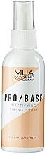 Parfémy, Parfumerie, kosmetika Matující fixační sprej - MUA Pro Base Mattifying Fixing Spray