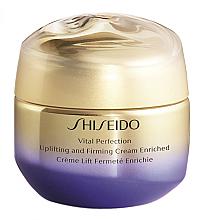 Parfémy, Parfumerie, kosmetika Lifting krém s posilujícím účinkem - Shiseido Vital Perfection Uplifting & Firming Cream Enriched