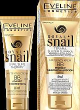 Parfémy, Parfumerie, kosmetika BB-krém, matový - Eveline Cosmetics Royal Snail BB Cream 8in1