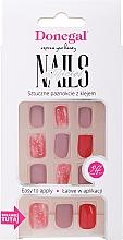 Parfémy, Parfumerie, kosmetika Sada umělých nehtů s lepidlem, 3072 - Donegal Express Your Beauty