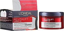 Parfémy, Parfumerie, kosmetika Krém-peeling na obličej proti vráskam - L'Oréal Paris Revitalift Laser X3