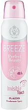Parfémy, Parfumerie, kosmetika Breeze Deo Spray Perfect Beauty - Tělový deodorant