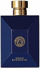 Parfémy, Parfumerie, kosmetika Versace Pour Homme Dylan Blue - Sprchový gel